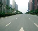 滨湖新区紫云路交通标志标牌标线工程