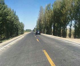 内蒙古五原美林至临河新华公路改建工程